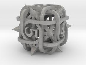 Thorn d6 in Aluminum
