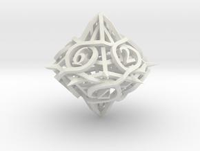 Thorn Die10 in White Premium Versatile Plastic