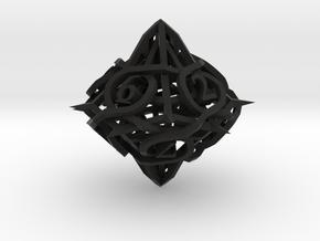 Thorn Die10 in Black Premium Versatile Plastic