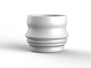 Profilo continuo femmineo in White Processed Versatile Plastic