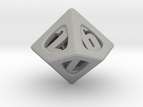 Thoroughly Modern d10 in Aluminum