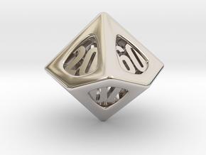 Thoroughly Modern d10 Decader in Platinum