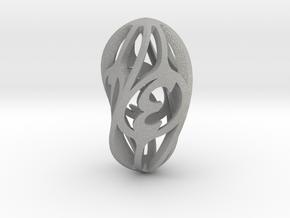 Twisty Spindle Die4 in Aluminum