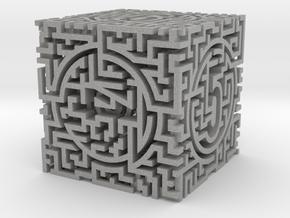 Labyrinthine Die6 in Aluminum