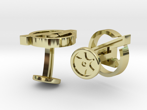 Avengers Cufflinks in 18k Gold Plated Brass