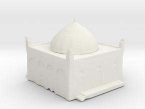 Temple  in White Natural Versatile Plastic