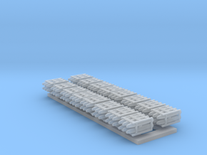 1:200 Scale Mk 84 Bomb Pallets in Smooth Fine Detail Plastic