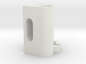 X-right for i3 3d printer clone in White Natural Versatile Plastic