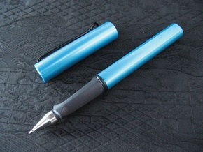 Pen Grip for Lamy Safari RB (Uni UMR-1/5/7/10) in Black Premium Versatile Plastic