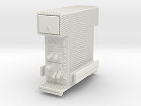 1/87 2018 Spartan Philadelphia SQUAD Pump section in White Natural Versatile Plastic