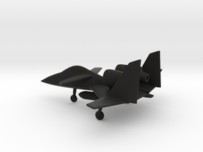 PZL-230 Skorpion in Black Natural Versatile Plastic: 1:160 - N