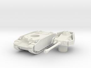 turan III scale 1/87 in White Natural Versatile Plastic