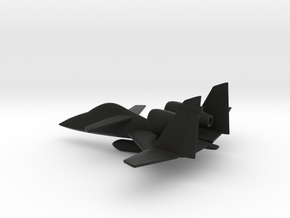PZL-230 Skorpion (w/o landing gears) in Black Natural Versatile Plastic: 1:160 - N