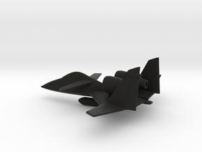 PZL-230 Skorpion (w/o landing gears) in Black Natural Versatile Plastic: 1:160 - N