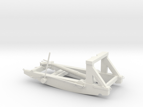 French Catapult  in White Natural Versatile Plastic
