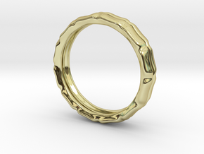 Worlds Apart in 18k Gold Plated Brass