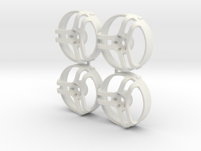 Advan Trispoke V1 SHOW ONLY for MST changeable in White Natural Versatile Plastic