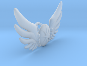 Star Wing Brooch for 42 cm doll in Smooth Fine Detail Plastic
