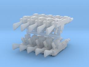 G3A1 Lasgun (Plain) x10 in Smooth Fine Detail Plastic