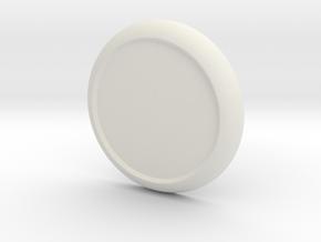 DIY Sticker Shield for ModiBot  in White Natural Versatile Plastic