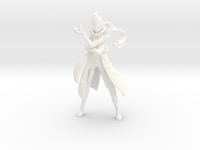 Gundham Tanaka Figure in White Processed Versatile Plastic: Large