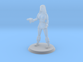 Space Officer in Smoothest Fine Detail Plastic