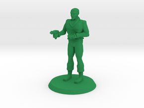 Space Officer 5 in Green Processed Versatile Plastic