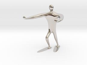 Blind walk statue in Platinum: 6mm