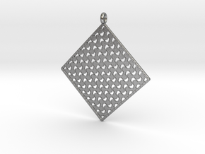 Pendant Pattern  in Natural Silver
