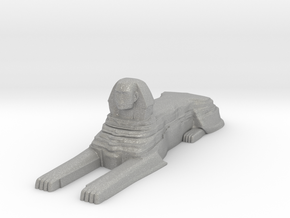 Sphinx in Aluminum