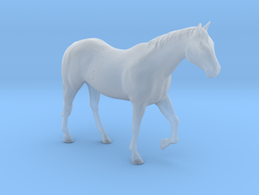 S Scale Walking Horse in Smooth Fine Detail Plastic