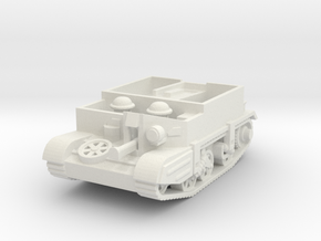 universal carrier scale 1/87 in White Natural Versatile Plastic