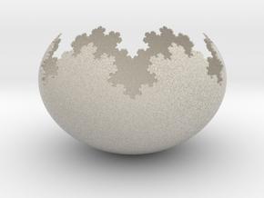 Koch Flake Bowl in Natural Sandstone