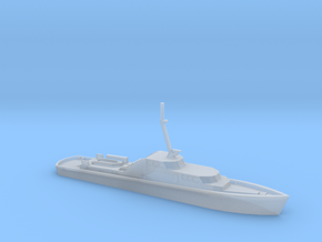 1/600 Scale German Police Boat in Smooth Fine Detail Plastic