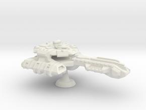 Icarus Class Battlecruiser - 1:7000 in White Natural Versatile Plastic
