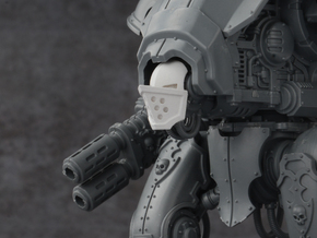 Mini Knight - Prow Mask in Smoothest Fine Detail Plastic