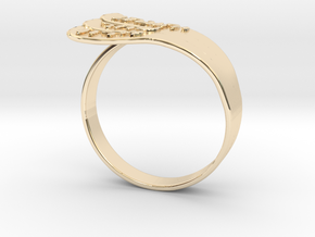 Hagit's Mother Goose in 14K Yellow Gold