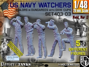 1/48 USN Watchers Set403-03 in Smooth Fine Detail Plastic