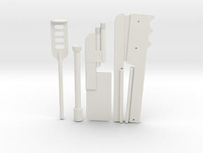 ROTJ Shin Tools in White Natural Versatile Plastic