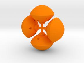 Galactic Cruiser Bopper Missiles in Orange Processed Versatile Plastic