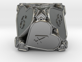 D8 Balanced - Hearts in Natural Silver