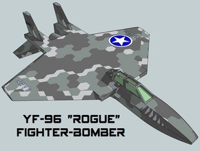 3mm Sci-Fi Fighter-Bombers (8pcs) in Smooth Fine Detail Plastic