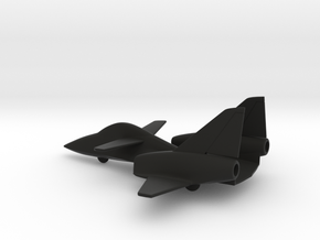 PZL-230F Skorpion (w/o landing gears) in Black Natural Versatile Plastic: 1:160 - N