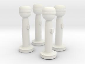 1/30 USN Pelarus Set x4 in White Natural Versatile Plastic