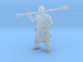 Human Monk in Smooth Fine Detail Plastic