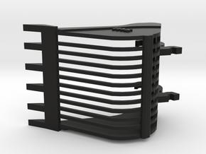 Dieplepel puinriek versie 7 tanden in Black Natural Versatile Plastic