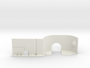 EX-Real inner fender RIGHT FRONT in White Natural Versatile Plastic