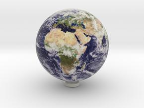 Earth 1:250 million in Full Color Sandstone