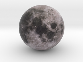 Moon 1:250 million in Full Color Sandstone