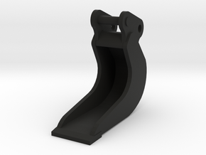 Bananenbak 40cm voor midikranen 8 ton 1:50 modelbo in Black Natural Versatile Plastic